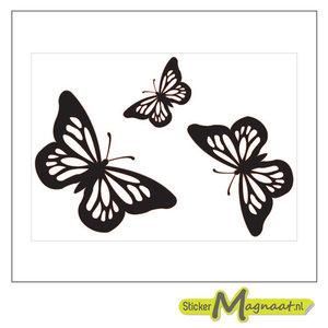 raamdecoratie stickers vlinder