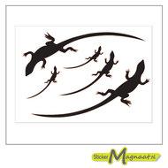 raamdecoratie stickers salamander